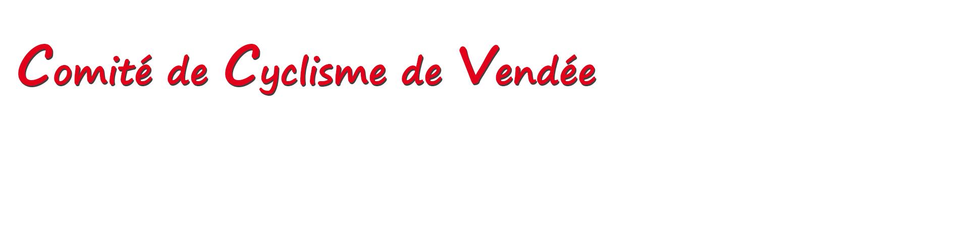 Comité De Cyclisme De Vendée Ffc